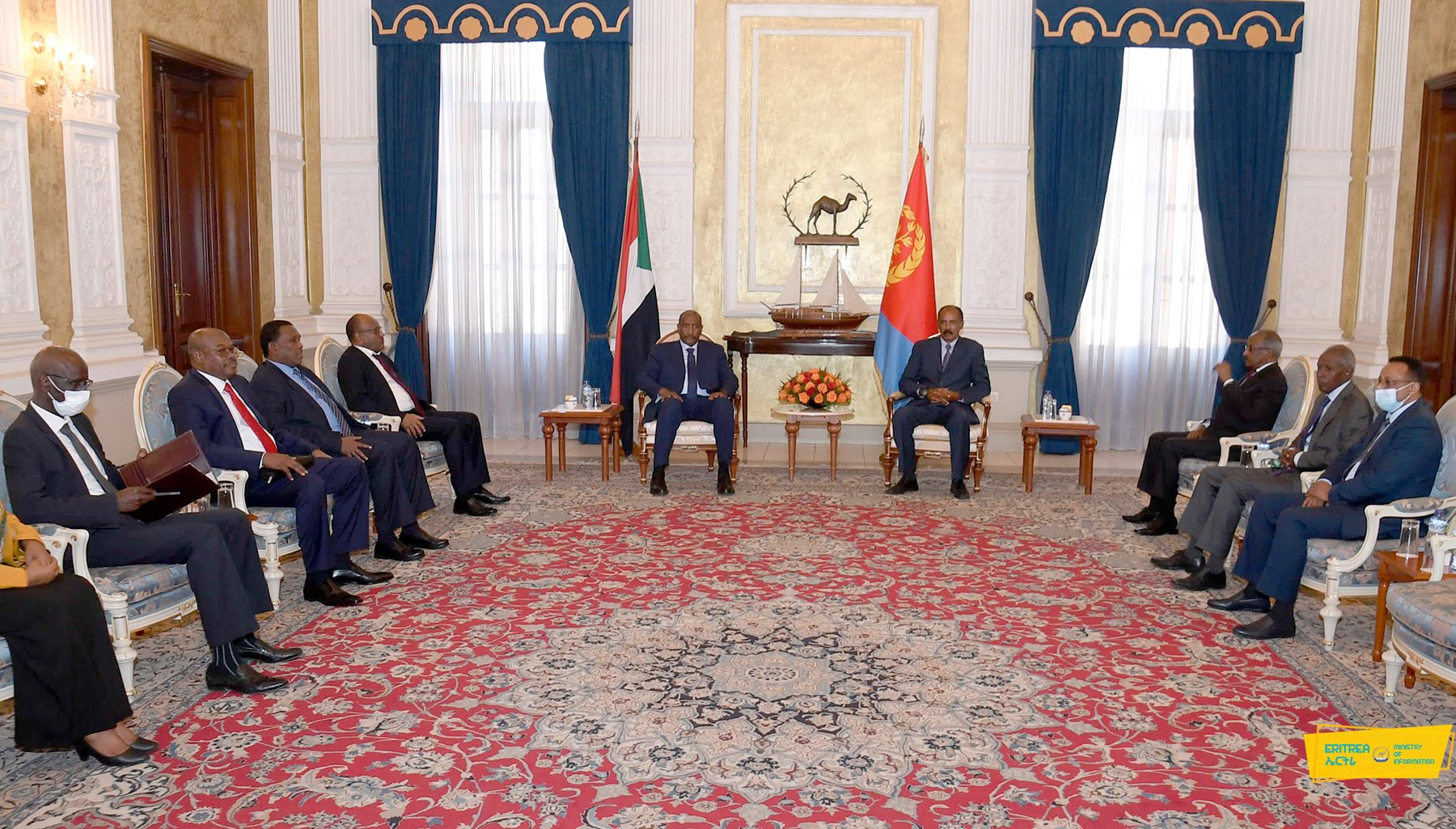 Sudan: Lt. Gen. Al-Burhan Arrives in Asmara for visit