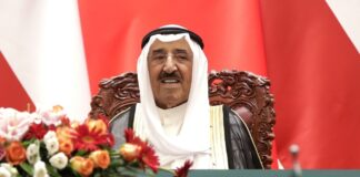 Sheikh Sabah was born on June 16, 1929 [Andy Wong/Getty Images]