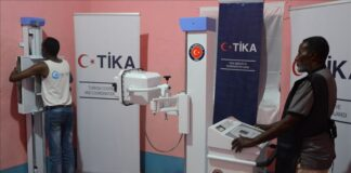 Turkey's state-run aid agency on Wednesday announced that it donated an X-ray machine to the Galgaduud State Hospital located in central Somalia which serves more than 500,000 people.