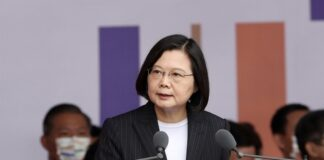 Taiwan President Tsai Ing-wen. CNA photo Oct. 10, 2020