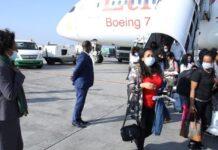 Ethiopia repatriates 132 migrants from Beirut