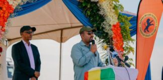 Ethiopia PM Launches A 300 Km Road Project In Somali Region