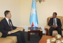 Somalia, China Discuss strengthening relations and cooperation