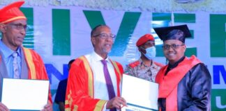 Somaliland President Attends 19th Amoud Graduation Ceremony