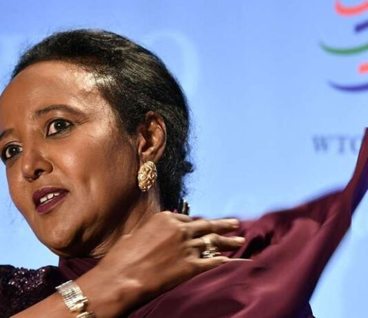 Ms Amina Mohamed, Kenya's candidate in the race to head the World Trade Organisation. File   Nation Media Group