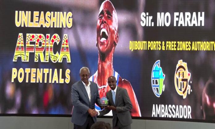 British long-distance runner Mo Farah Named Djibouti Ports Ambassador