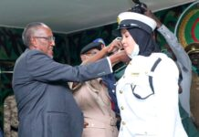 Somaliland: First Batch of home trained cadets of armed forces graduate