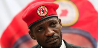 Bobi Wine has captured the imagination of many Ugandans with his persistent calls for the 76-year-old president. Yoweri Museveni, to retire. Photograph: James Akena/Reuters