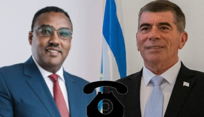 Ethiopia, Israel Foreign Ministers Exchange Phone Calls