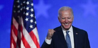 Democratic candidate Biden has won the U.S. presidential election after he secured enough electoral college votes on Saturday, according to U.S. networks. President Donald Trump is contesting results from some states.