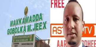 Somaliland Court sentences Astaan TV CEO to 5 years in prison