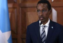 Ahmed Isse Awad was retained in a new cabinet announced last month