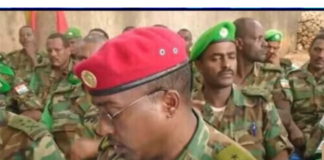 Ethiopia arrests several army officers for aiding Tigray unrest