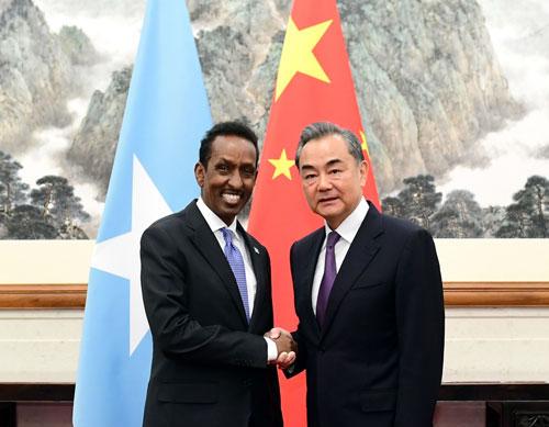 China, Somalia ready to push bilateral ties to new highs: FMs