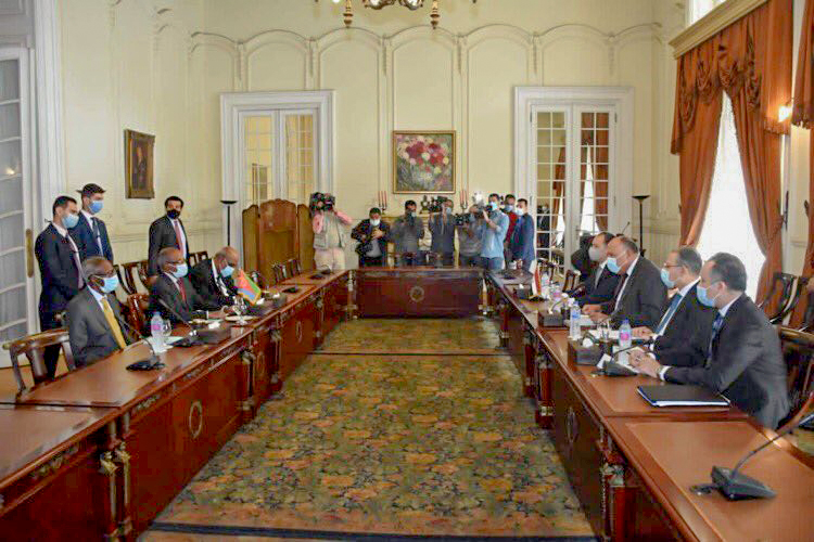 Egypt, Eritrea discuss developments on GERD negotiations and current situation in Ethiopia