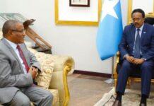 Ethiopia PM Security Advisor Briefs President Of Somalia On Operation In Tigray