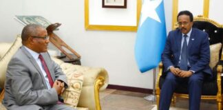 Ethiopia PM Security Advisor Briefs President Of Somalia On Operation In Tigray
