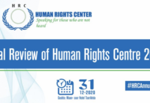 Human Rights Centre releases 2020 Annual Report