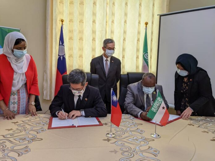 Taiwan unveils agriculture cooperation with Somaliland