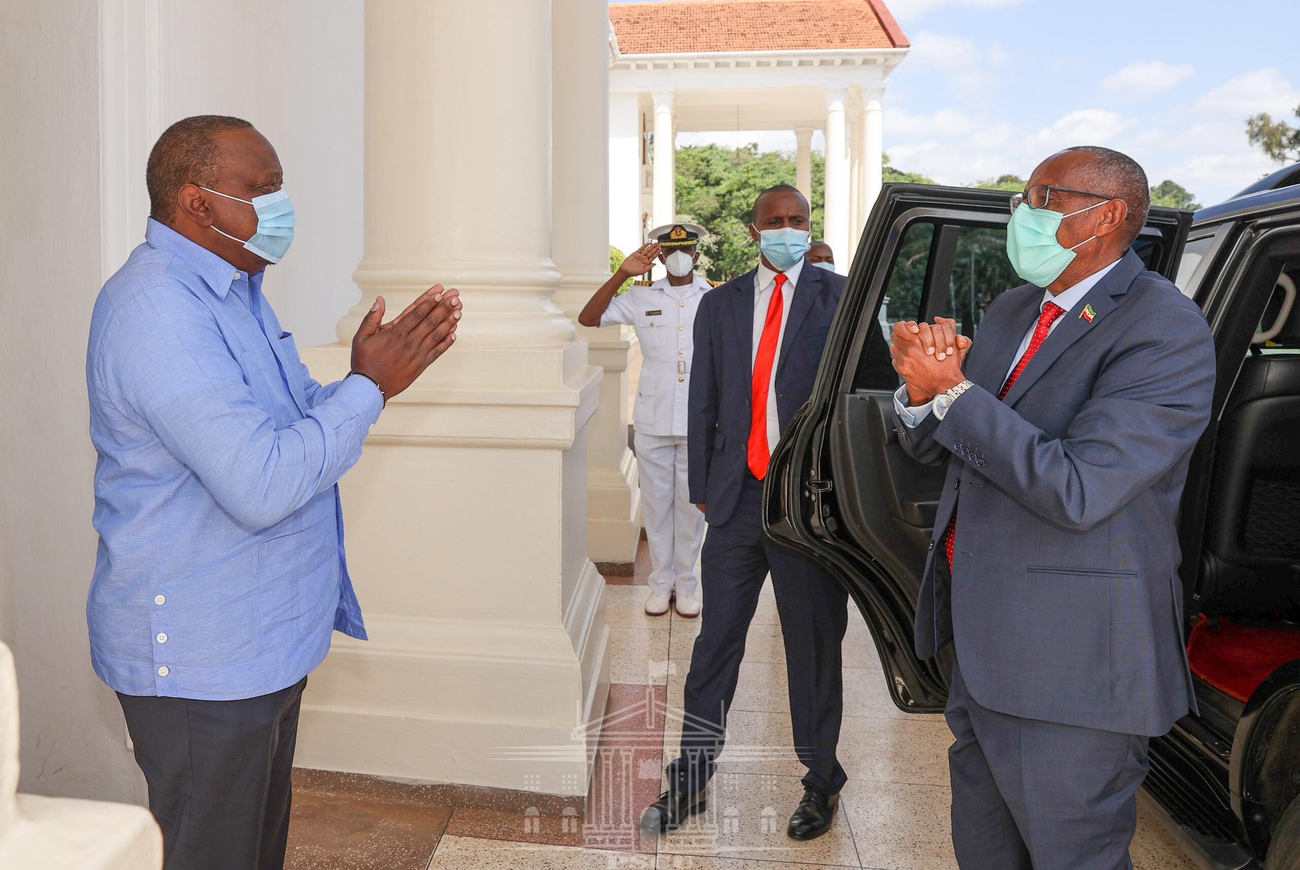 Somaliland, Kenya Presidents discuss issues of mutual interest
