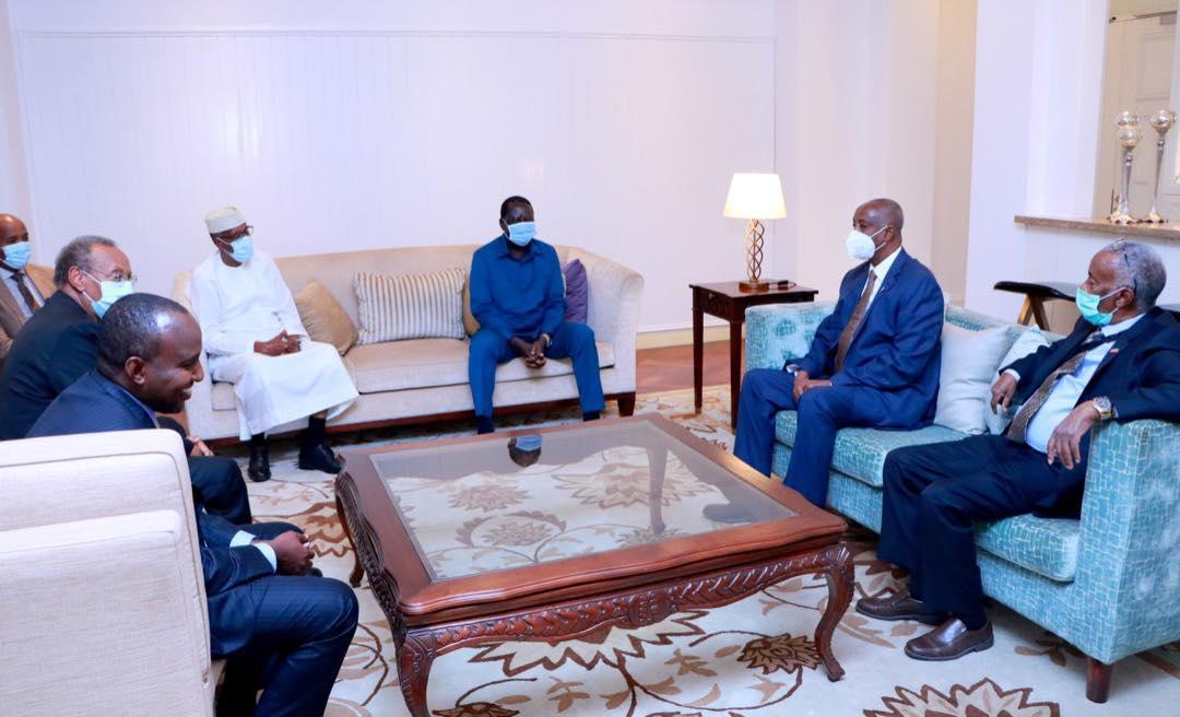 Somaliland President meets former PM of Kenya Raila Odinga