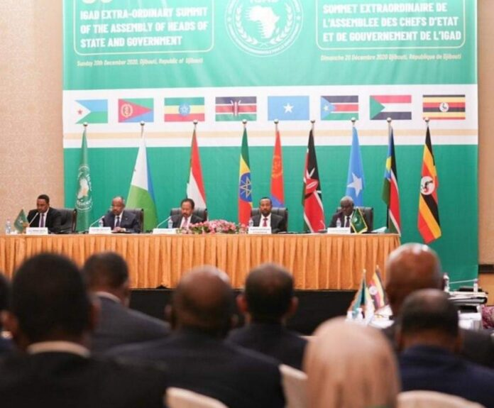 COMMUNIQUÉ OF THE 38th EXTRAORDINARY ASSEMBLY OF IGAD HEADS OF STATE AND GOVERNMENT DJIBOUTI, REPUBLIC OF DJIBOUTI 20TH DECEMBER 2020