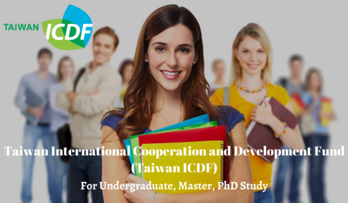 Taiwan ICDF International Scholarships