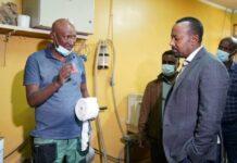 Ethiopian PM Visits Prosthetics Production Center