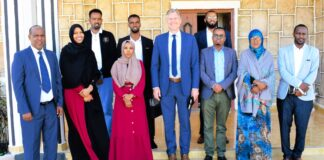 Danish Ambassador visits Somaliland, Discusses priority issues with government and civil society