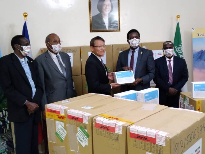 News Release: Taiwan-Somaliland fight against COVID-19 together
