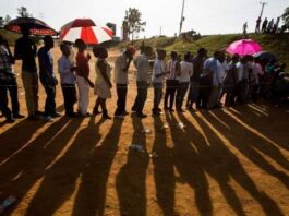 Uganda elections: Queues at polling stations