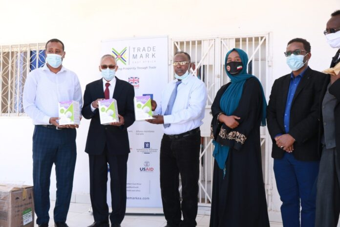 TradeMark East Africa Presents Personal Protective Equipment (PPEs) to Government of Somaliland to Boost Fight Against Covid-19