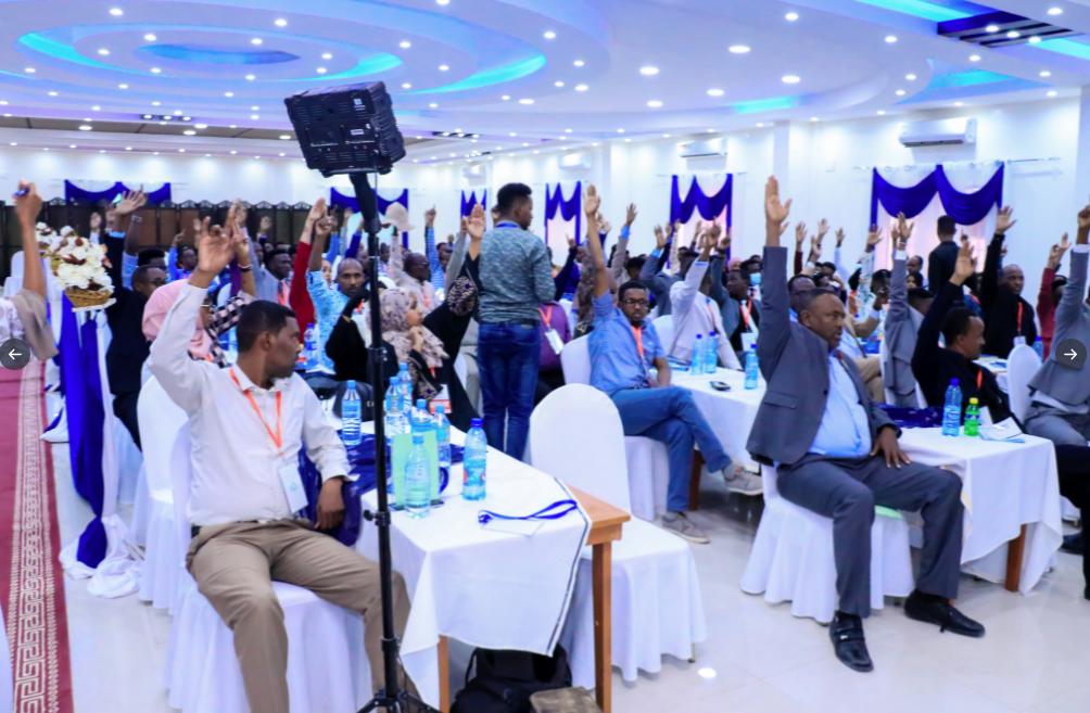 Somaliland Journalists Association elects new leadership