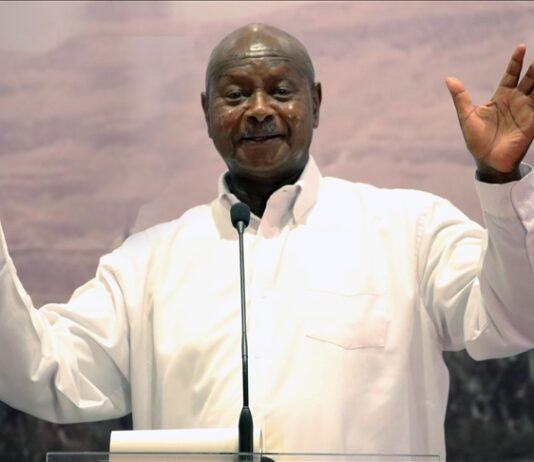 Museveni named winner of Ugandan presidential elections