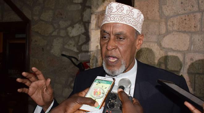 The legislators led by Garissa Senator Yusuf Haji called on President Uhuru Kenyatta to intervene in the matter as they offered to mediate in seeking a amicable resolution/CFM-FILE