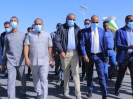 Ethiopia: Former PM Hailemariam Arrives In Jigjiga