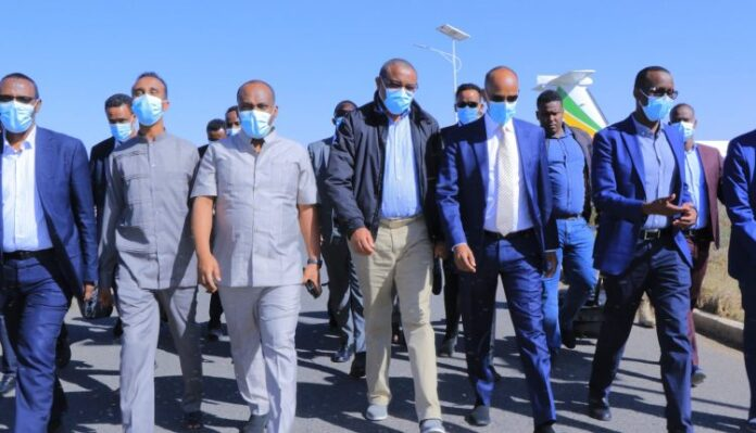 Ethiopia: Former PM Hailemariam Arrives In Jigjiga