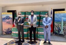 Taiwan donates COVID-19 medical supplies to Somaliland