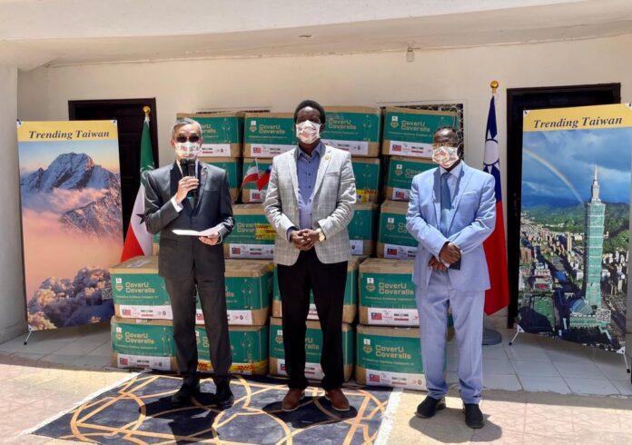 Taiwan donates COVID-19 medical supplies to Somaliland