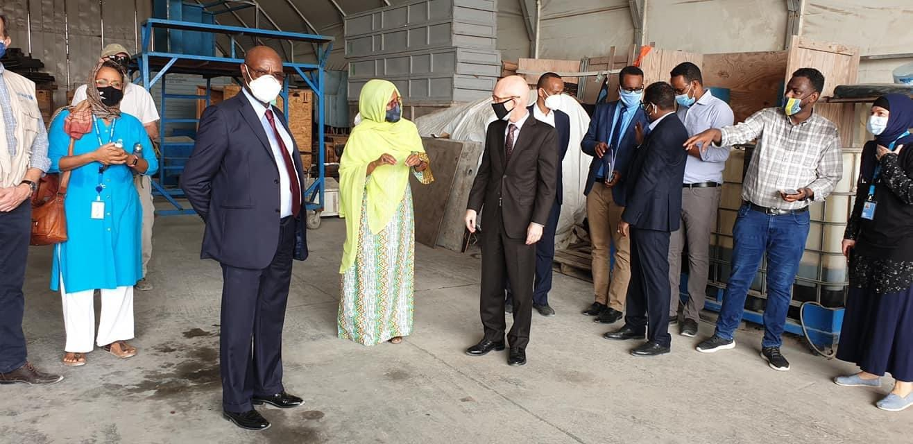 Somalia receives first batch of COVID-19 vaccines through COVAX