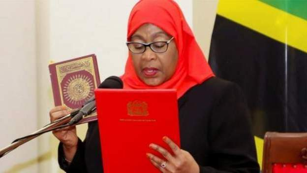 AFPCopyright: AFP President Samia has been hailed for being unafraid to take the country in a new direction
