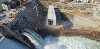 Ethiopia says Two Bottom Outlets Of GERD Completed