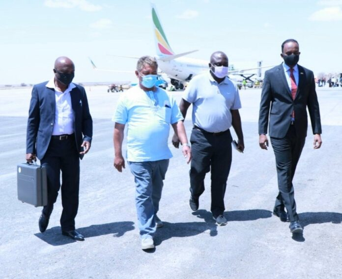 Somaliland: Zambia Minister of Justice arrives in Hargeisa