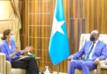 Somalia deputy PM, UK ambassador discuss current political situation