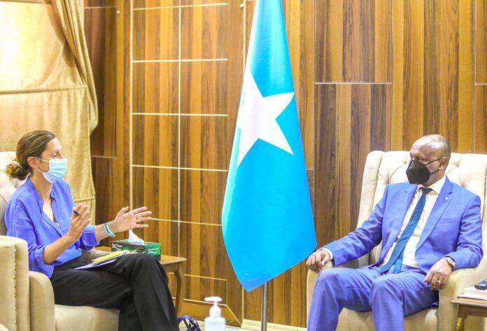 Somalia deputy PM, UK ambassador discuss current political situation