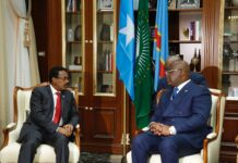 Somalia , Congo presidents discuss regional developments