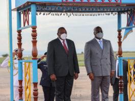Kenya President Arrives In Kinshasa For A Three-day State Visit Of DR Congo