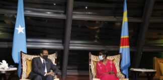 Somalia President Arrives in Kinshasa for Regional Talks