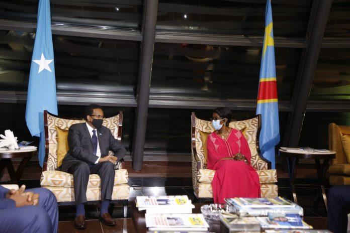 Somalia President Arrives in Kinshasa for Regional Talks