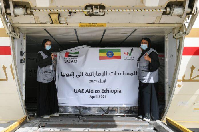 UAE sends humanitarian aid plane to Ethiopia